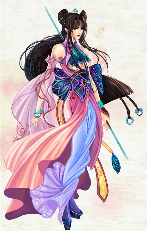 Thần Điêu Bí Truyền Hoàng Dung Thiên